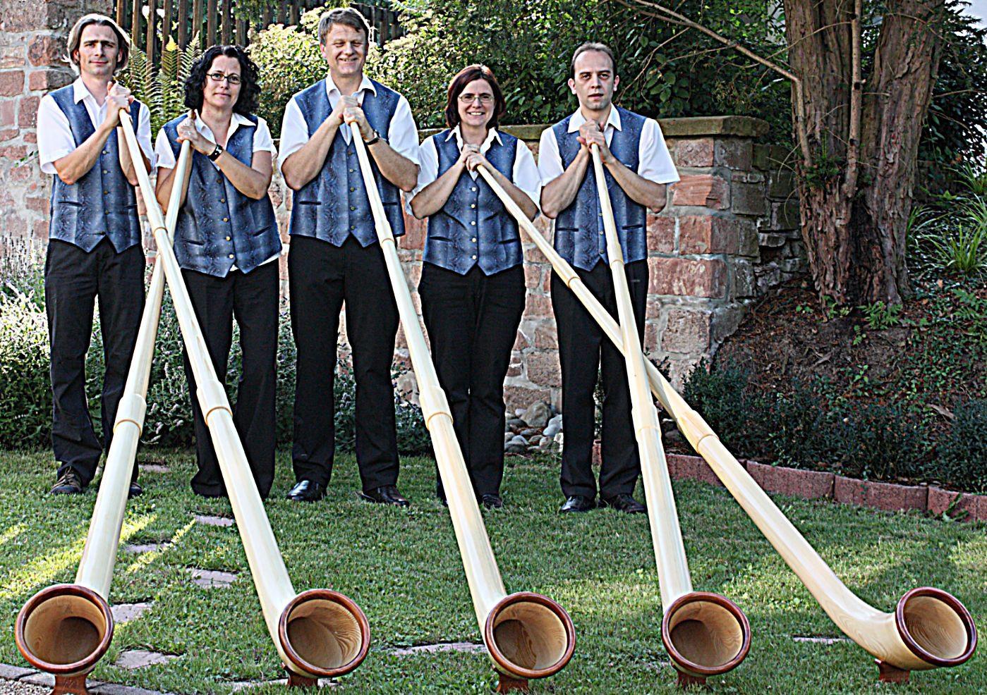 Gruppenfoto vom Beginn